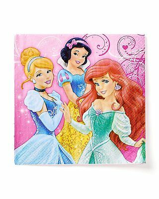 Disney Princess Luncheon NAPKIN BIRTHDAY Party Baby Shower decorations      7-9C