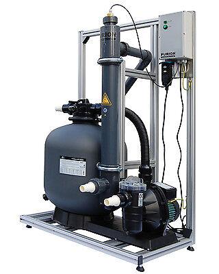 PURION 80 Salzwasserpool Komplettsystem Reinigung ohne Chemie 90m³Pool