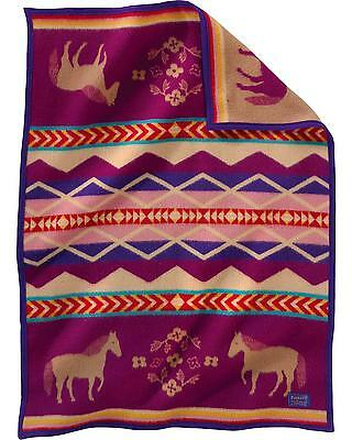 Pendleton Painted Pony Muchacho Blanket Purple One Size