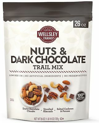 Mix Dark Chocolate - 🔥 Wellsley Farms Nuts and Dark Chocolate Trail Mix, 26 oz. (737 g.)