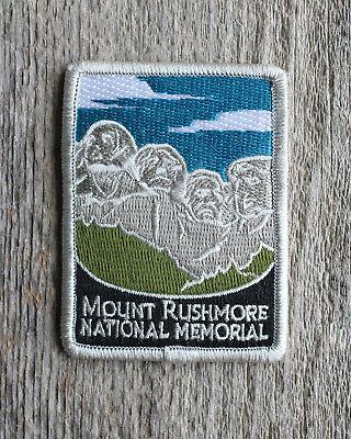 Mount Rushmore National Memorial Souvenir Patch South Dakota Park Monument Mt.