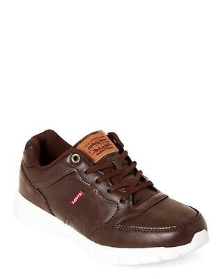 LEVI'S KIDS SHOES (538000F17-01B): COLBY BURNISH SIZES 6. Color Brown