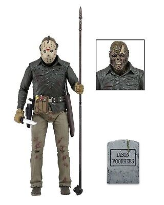 """Friday the 13th - 7"""" Scale Action Figure - Ultimate Part 6 Jason Voorhees - NECA Friday The 13th Jason Voorhees"""