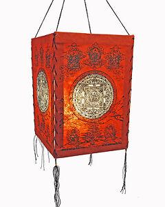Pantalla-de-lampara-papel-LOKTA-Luz-Lampara-Lampion-Colgante-Nepal