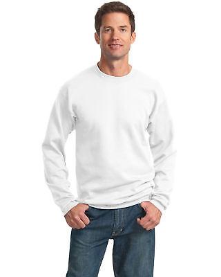 Classic Crewneck Sweatshirt - Port & Company Men's Lightweight Classic Crewneck Fleece Sweatshirt. PC78