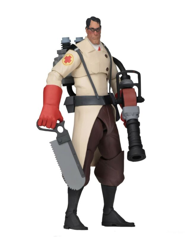"Team Fortress 2 - 7"" Scale Action Figures - Series 4 Red - Medic - Neca"