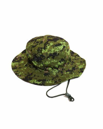 NEW ARKTIS V194 CANADIAN CADPAT TW DIGITAL WOODLAND BOONIE SNIPER HAT. M. 58 CM.