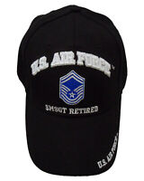 95f4773f45f10 Licensed US Air Force SMSGT Retired Cap