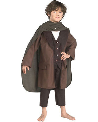 Morris Costumes Boys Long Sleeve Polyester Frodo Child Costume 12-14. RU38815LG](Kids Frodo Costume)