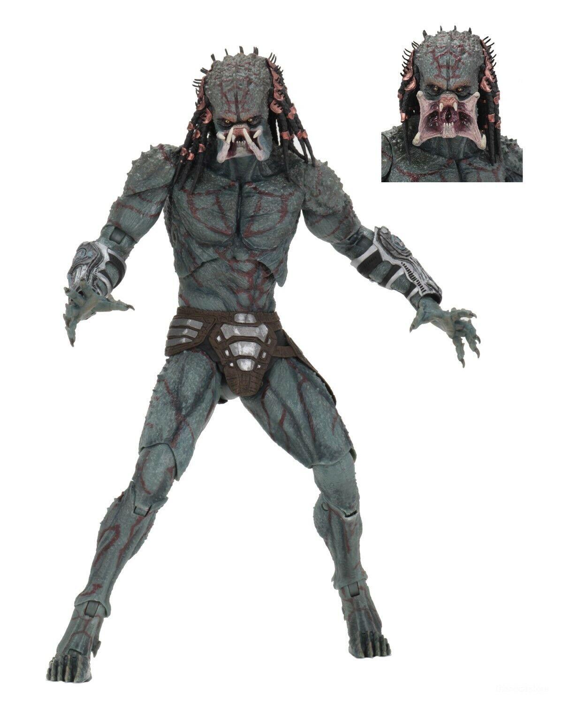 "Predator (2018) - 7"" Scale Action Figure - Deluxe Armored Assassin Predator NECA"