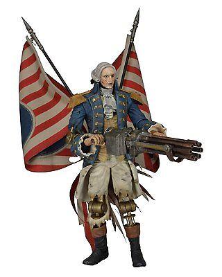 "Bioshock Infinite - 9"" George Washington Motorized Patriot Action Figure - NECA"