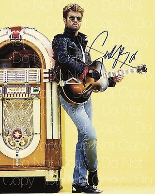 George Michael signed Wham! Faith Wham 8X10 photo picture poster autograph RP 3