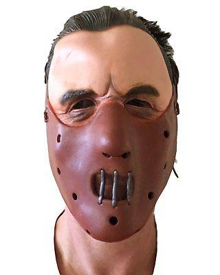 EX MASK HALLOWEEN LAMBS LECTOR MUZZLE COSTUME (Hannibal Maske Halloween)