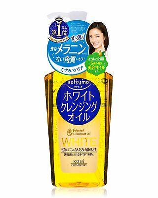Kose Cosmeport Softymo Blanco Aceite Limpiador Removedor de Maquillaje 230ml