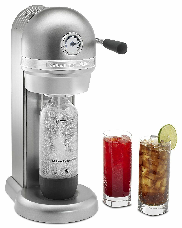 KitchenAid KSS1121CU Sparkling Beverage Maker SodaStream