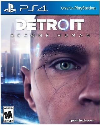 Detroit: Become Human PlayStation 4 PS4 BRAND NEW! SEALED!