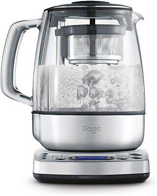 SAGE STM800 the Tea Maker, Tetera Eléctrica con Infusor y Filtro, 1.5...