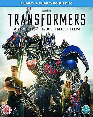 Transformers 4 - L'era dell'estinzione (Blu-Ray™+Bonus Disc) Dell Blu Ray Disc