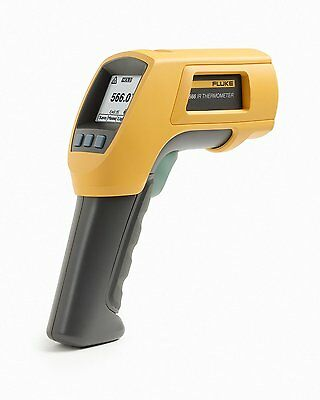 Fluke 566 Ir Infrared Contact Thermometer -40c To 650c -40f To 1202f