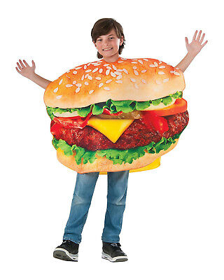Grill-ty As Charred Burger Unisex Child Costume Tunic - Ty Costume