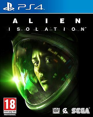 Alien Isolation PS4 Brand New Factory Sealed PlayStation 4