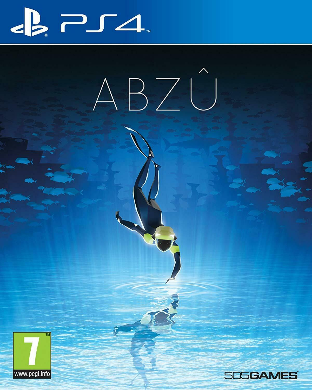 Abzu (PS4) New & Sealed - In Stock Now - UK PAL