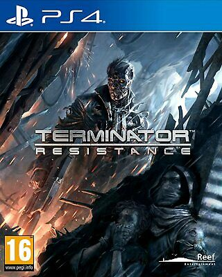 Terminator: Resistance PS4 (Sony PlayStation 4, 2019) Brand New - Region Free