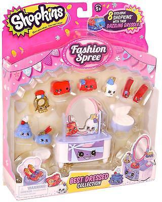 Shopkins Season 3 Fashion Spree Best Dressed Collection Dazzling Dresser (New) - Best Disney Princess Dresses