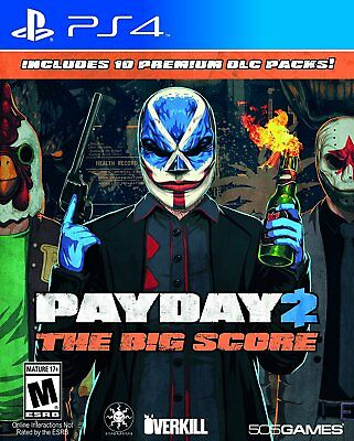 Payday 2  The Big Score  Sony Playstation 4
