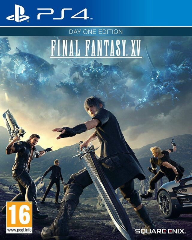 PS4+FINAL+FANTASY+XV+15+Day+One+Edition+PLAYSTATION+4+NEW+SEALED+Game+%2A