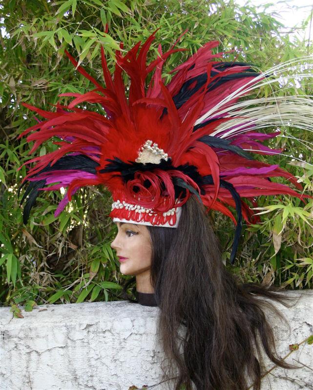 SIDEKICK ~ AN ISLAND HEADDRESS TAHITIAN   COOK ISLAND STYLE