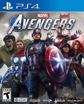 Marvel's Avengers for PlayStation 4 PS4 Game Sealed New