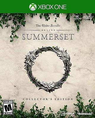 Elder Scrolls Online: Summerset Collector's Edition Microsoft Xbox One, 2017 segunda mano  Embacar hacia Argentina