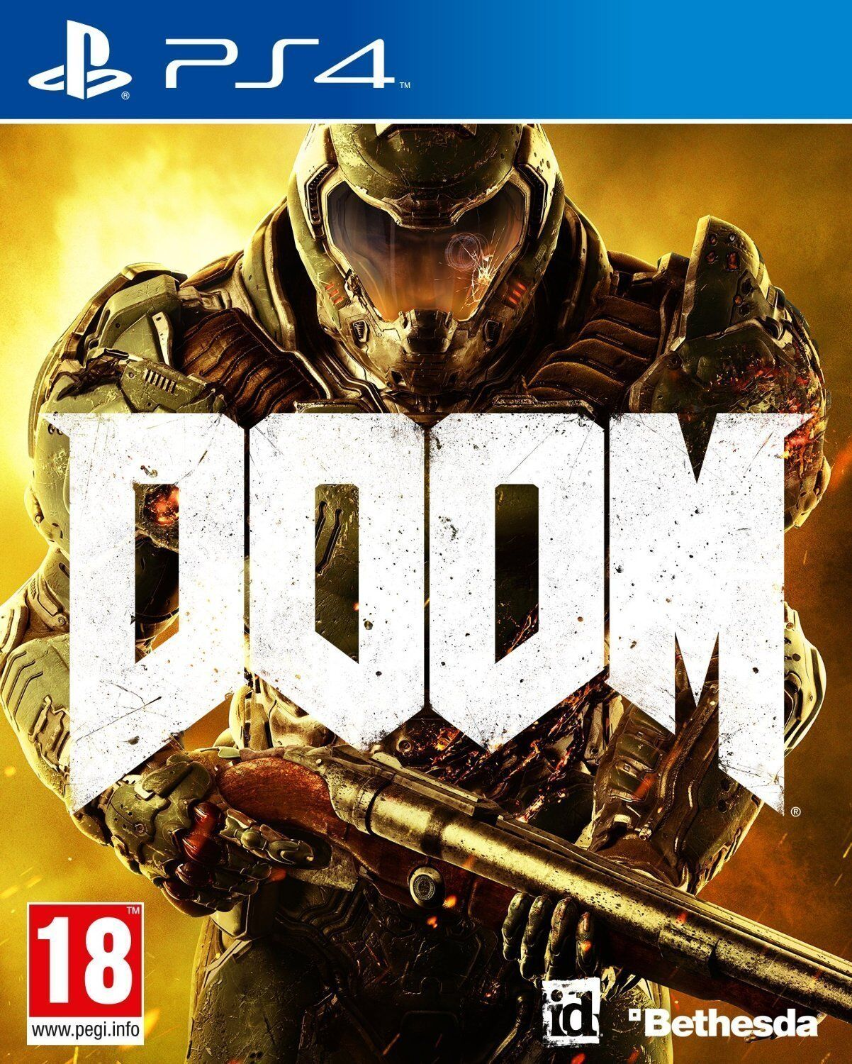 Doom PS4 Sony PlayStation 4 Brand New Factory Sealed