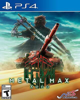 Metal Max Xeno PS4 Sony PlayStation 4, 2018 Brand New