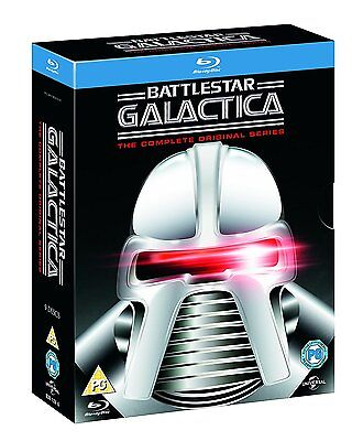 Battlestar Galactica   The Complete Original Series  Blu Ray  9 Discs   New