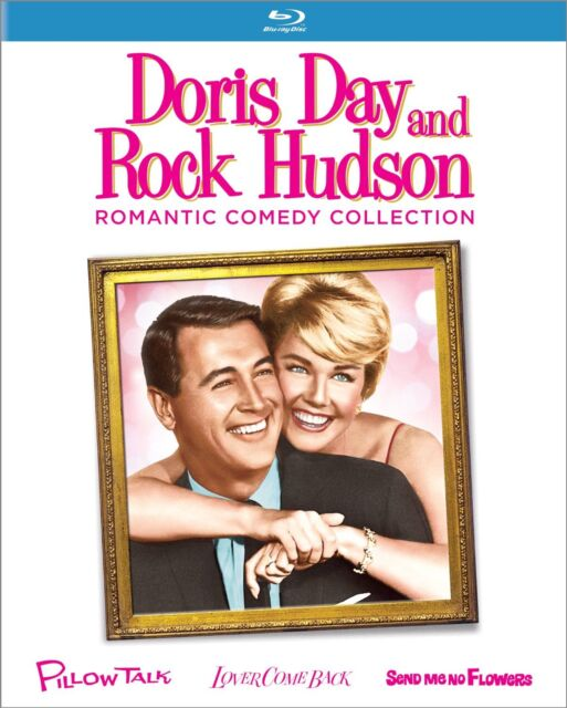 Doris Day / Rock Hudson Romantic Comedy Collection -Blu Ray - Sealed Region free