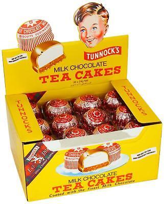 Tunnocks Tea Cakes Milk Chocolate 24g x 36 units