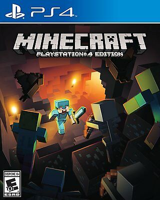 $24.42 - Minecraft -PlayStation 4 Brand New Ps4 Games Sony Factory Sealed Free Shipping