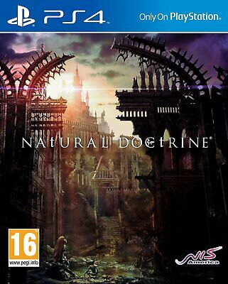 Natural Doctrine Game Sony PlayStation 4 PS4 Brand New FACTORY SEALED (Ps4 Natural Doctrine)