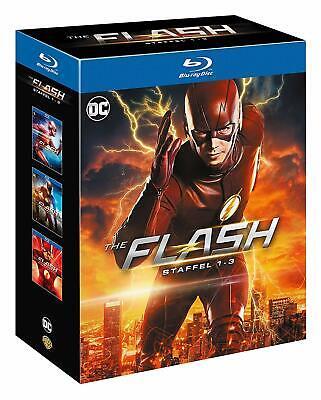 The Flash: Die kompletten Staffeln 1 - 3 Limited Edition Komplettbox Blu-ray OVP