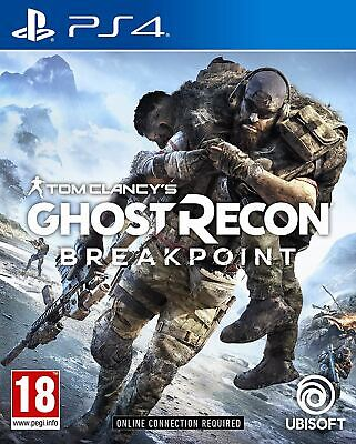 TOM CLANCY'S GHOST RECON BREAKPOINT STANDARD EDITION PS4 GAME