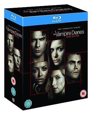 The VAMPIRE DIARIES COMPLETE SERIES SEASON 1,2,3,4,5,6,7,8 BLU RAY DISC SET 1-8 for sale  Shipping to Canada