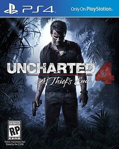Uncharted 4 - New in package