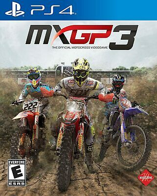 MXGP 3: PlayStation 4 - Ps4 Games - Brand New Factory Sealed
