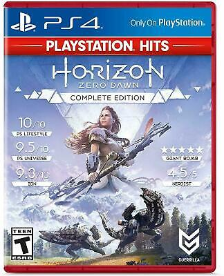 HORIZON ZERO DAWN COMPLETE EDITION  NEW SEALED PS4 PLAYSTATION 4 HITS Version