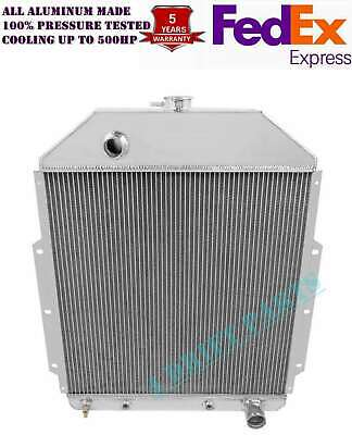 FIT 1951 1952 Ford F2 (CHEVY V8) 3 ROWS ALL ALUMINUM RADIATOR