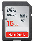 16GB SDHC Camera Memory Cards for Canon