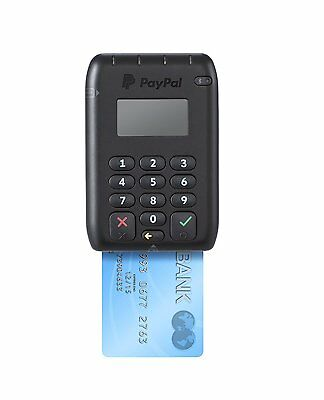 Official Paypal Here Contactless Emv Chip And Pin Card Reader - Free Shipping