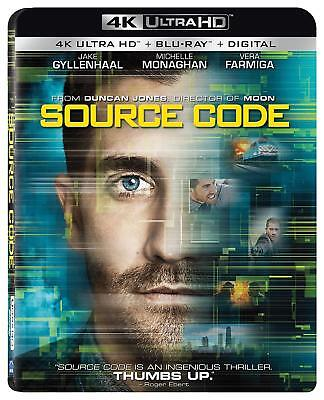 Source Code 4K UHD 4K (used) Blu-ray Only Disc Please Read